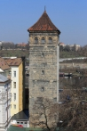 Novomlýnská vodárenská věž, foto Muzeum hlavního města Prahy