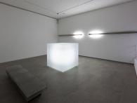 Václav Cigler, Michal Motyčka, Přerušené světelné pole, 2012. Foto © Galerie hlavního města Prahy