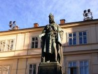 V letošním roce uplyne 700 let od narození významného českého panovníka Karla IV. Foto Praha Press