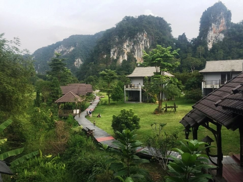 Thajsko s místním průvodcem. Foto Veronika Beads