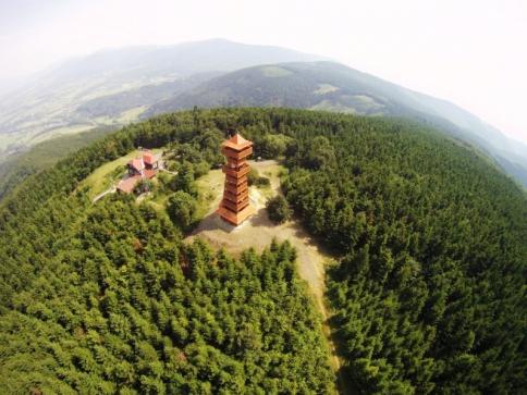 Vítěz 1. ročníku - Rozhledna Velký Javorník. Foto Destinační managment turistické oblasti Beskydy-Valašsko o.p.s.