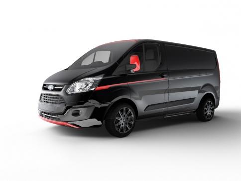 Ford odhalil nové exkluzivní varianty užitkového modelu Transit Custom. Foto Ford