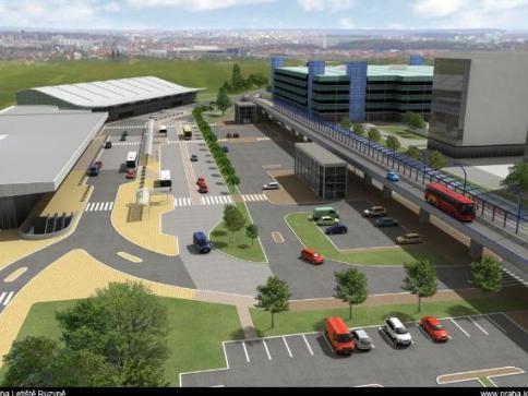 Příprava projektu železnice z Veleslavína na Letiště Václava Havla má zelenou. Foto SŽDC