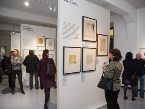 Výstava Lekce z karikatury, foto UPM