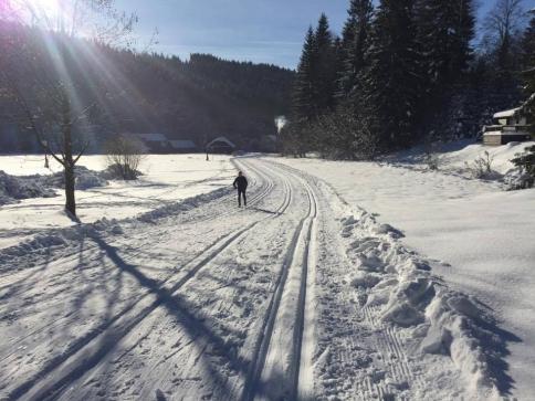 Přijeďte si užít běžky do Velkých Karlovic. Foto Resort Valachy