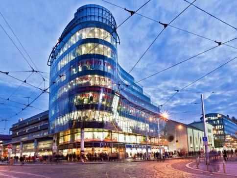 Kancelářská budova Zlatý Anděl získala certifikát BREEAM Excellent, foto Cushman & Wakefield