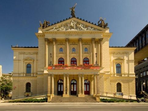 Rozhodnutí o výběru zhotovitele rekonstrukce Státní opery. Foto Národní divadlo