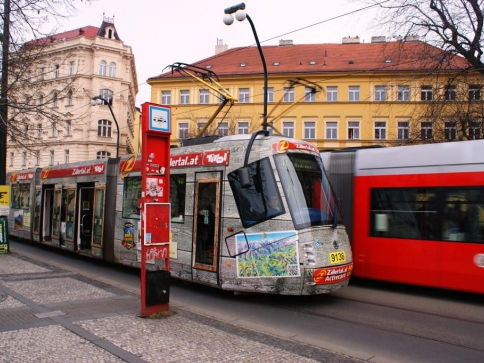 Rušení tramvajových spojů kvůli hluku Praze nehrozí. Foto Praha Press