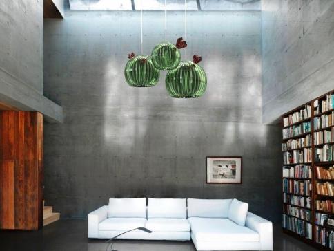 Krása kaktusů inspirací pro nadaného skláře Filipa Houdka, foto Filip Houdek