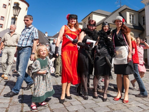 Program zahájení litomyšlské lázeňské sezóny, foto Město Litomyšl