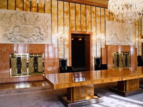 Mobiliář Rezidence primátora je kulturní památkou, foto MHMP