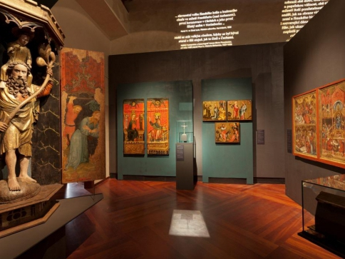 Výstavy o středověku Císař Karel IV. a Bez hranic mezi desítkou celosvětově nejnavštěvovanějších. Foto Národní galerie