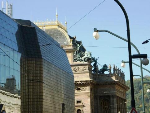 Ulice Národní bude v létě rekonstruována, foto Praha Press