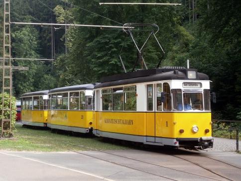 tramvajová linka z Bad Schandau, foto pixabay.com