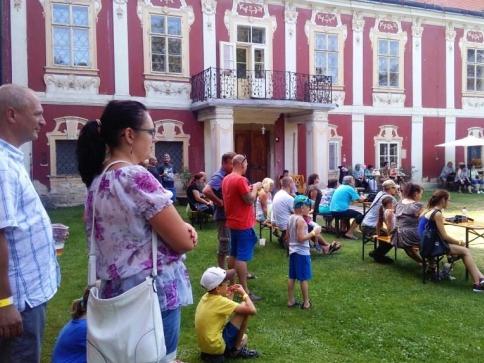 Zahradní slavnost na zámku Stekník, foto NPÚ