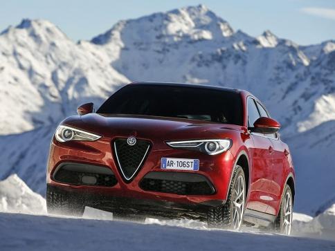 Alfa Romeo Stelvio získala 5 hvězdiček Euro NCAP, foto Fiat Chrysler Automobiles N.V.