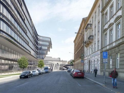 Pražské Masarykovo a hlavní nádraží spojí unikátní zastřešení, foto Jakub Cigler Architekti
