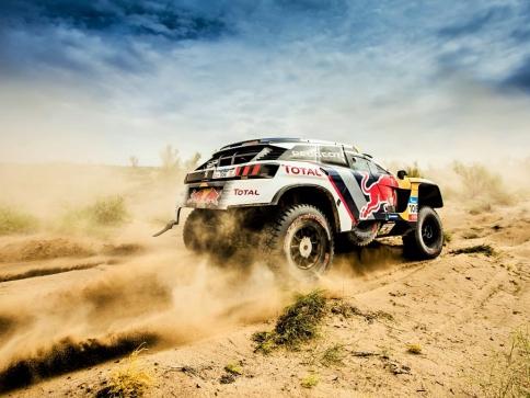 Peugeot Sport se zúčastní na Rally Maroko, foto PEUGEOT CITROËN DS