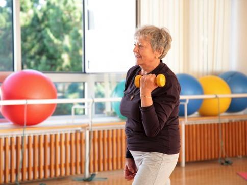 Odborníci z Masarykovy univerzity připravují unikátní cvičení pro pacienty s nádory krvinek. Foto Masarykova univerzita