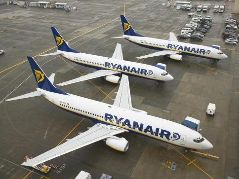 Klienti Ryanair mohou mít právo i na kompenzaci ve výši 250 eur, foto Ryanair