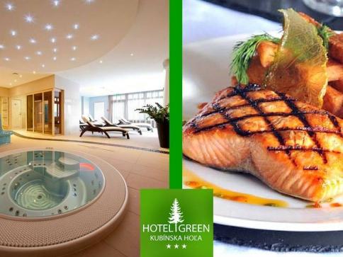 Podzimní dovolená pro 2 až na 6 dní s polopenzí v 3* hotelu Green na Oravě
