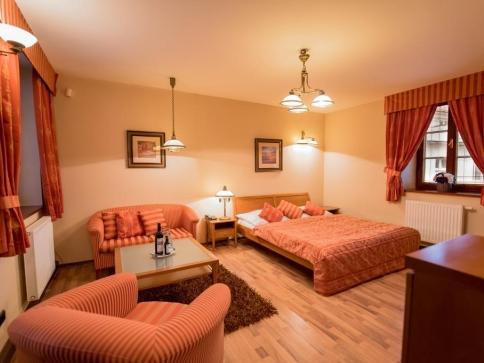Příjemný hotel v blízkosti v blízkosti kroměřížského zámku