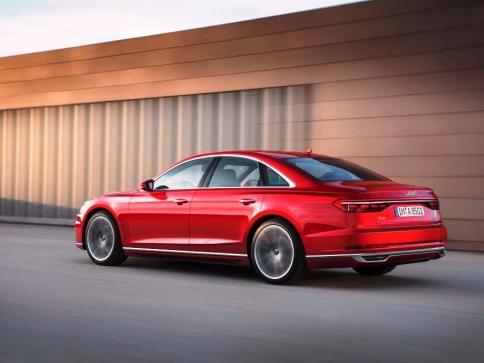 Vylepšené Audi A8 již můžete objednávat, foto Audi