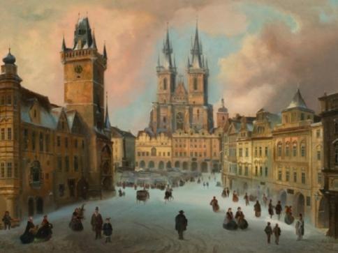 Prožijte si atmosféru historických pražských časů vánočních, foto Muzeum Prahy
