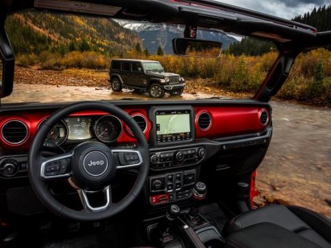 Nejschopnější SUV na světě Jeep® Wrangler se představuje na autosalonu v Los Angeles, foto: FCA N.V.