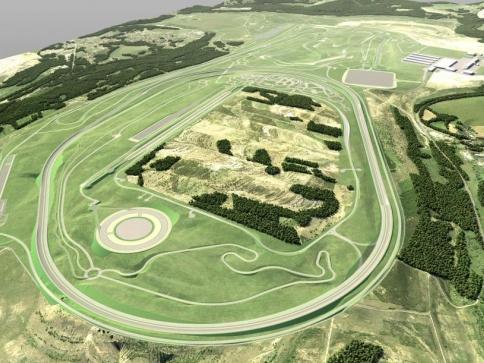 BMW Group oznamuje zahájení výstavby nového zkušebního centra v České republice, foto: BMW Group ČR.
