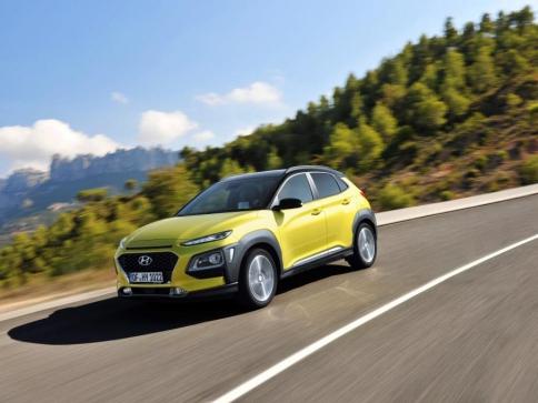V kategorii menších SUV je nejbezpečnější Hyundai Kona, foto: Hyundai Motor Czech s.r.o.