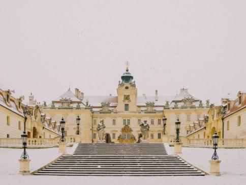 Zimní prohlídky na zámku Valtice, foto NPÚ, zámek Valtice