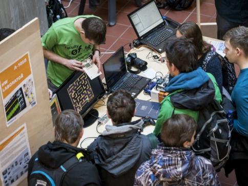 Poznejte Fakultu informačních technologií ČVUT v Praze na Dni otevřených dveří, foto Fakulta informačních technologií
