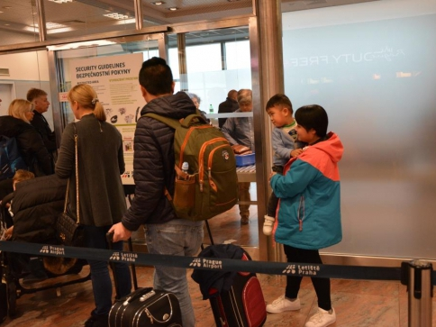 Letiště Václava Havla Praha. Foto Praha Press