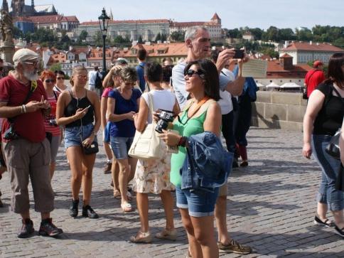 Další rekordní rok: Příjezdy zahraničních turistů překročily 10 milionů. Foto Praha Press