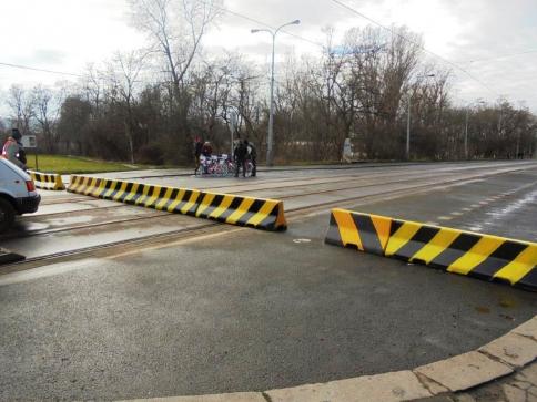 Tramvaj přes Libeňský most pojede, foto TSK Praha
