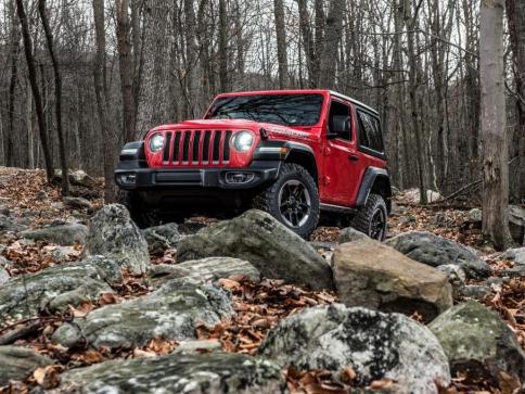 Zcela nový Jeep Wrangler, foto Fiat Chrysler Automobiles N.V.