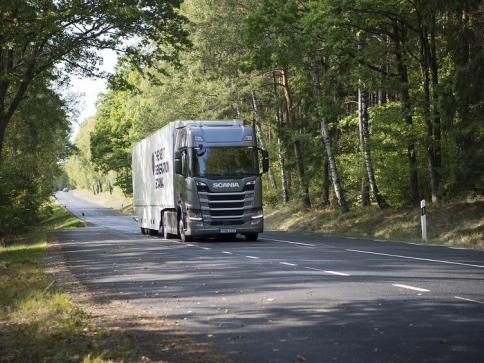 Scania R 500 získala letošní Green Truck Award s velkým náskokem, foto: SCANIA