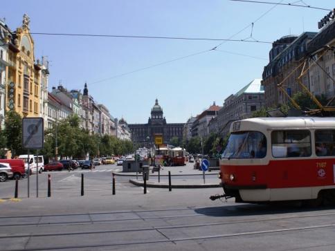 Veřejnost může podat připomínky k obnovení tramvají na Václavském náměstí, foto: Praha Press