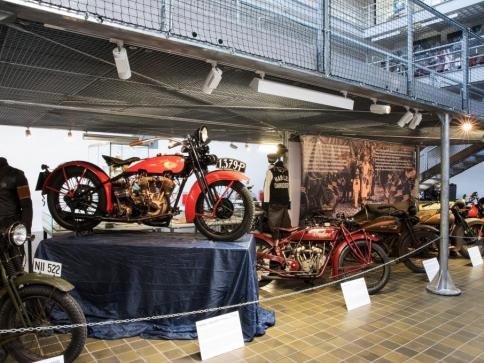 Národní technické muzeum zve na výstavu 90 let Harley-Davidson Clubu Praha, foto: NTM