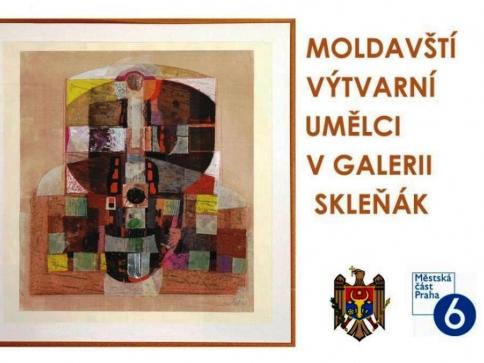 Moldavští výtvarní umělci v Galerii Skleňák, foto: Praha 6