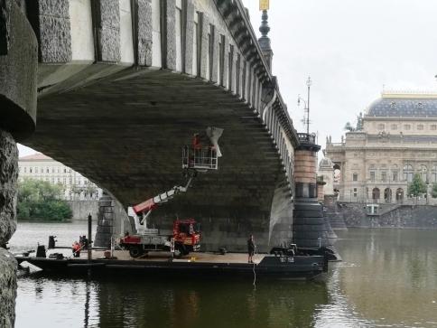 Připravuje se rekonstrukce mostu Legií, foto: TSK Praha