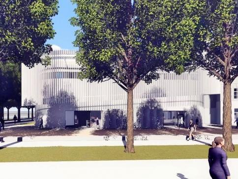 Roste nové výukové centrum VŠPJ, foto: PSJ