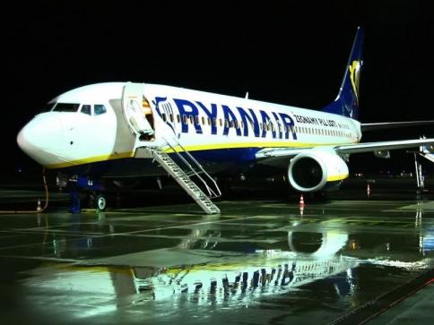 Ryanair otevírá novou linku Brno – Milán Bergamo. Foto: Ryanair