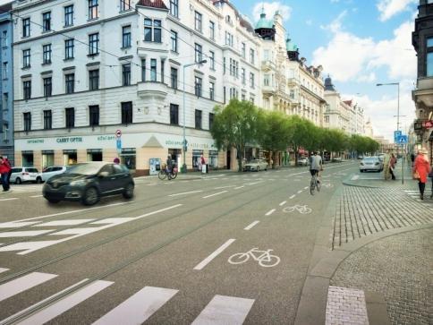 Prahu čeká rekonstrukce čtyř ulic na Letné, foto: IPR