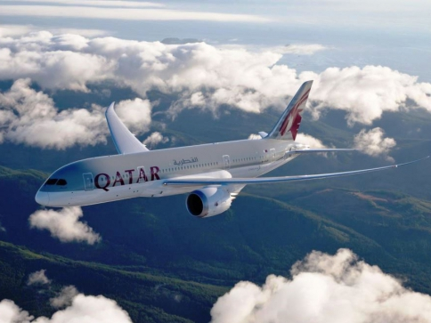 Foto: Qatar-Airways Boeing 787-dreamliner