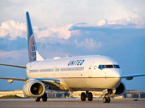 United Airlines míří do Prahy, od června budou létat do Newarku, ilustrační foto: United Airlines