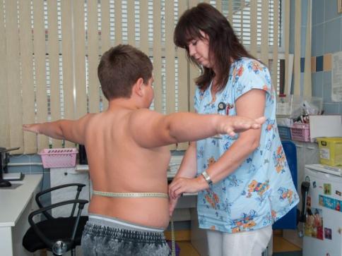 Přibývá stále více obézních dětí, foto: FN Brno Dětská obezitologická ambulance