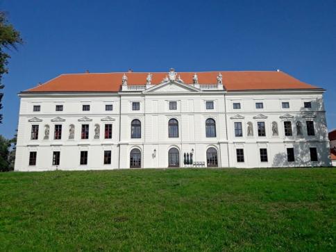 Pětiletá obnova areálu židlochovického zámku skončila, foto: LČR
