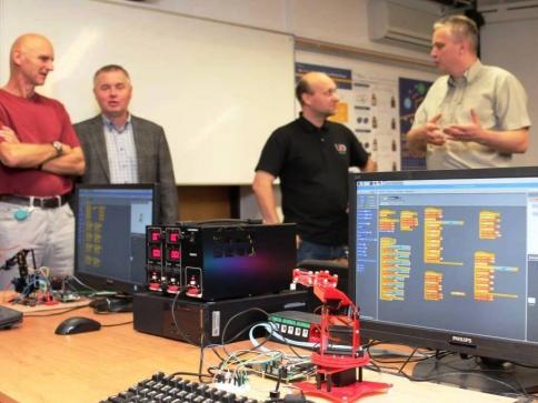 ZČU otevřela laboratoř pro internet věcí, foto: ZČU